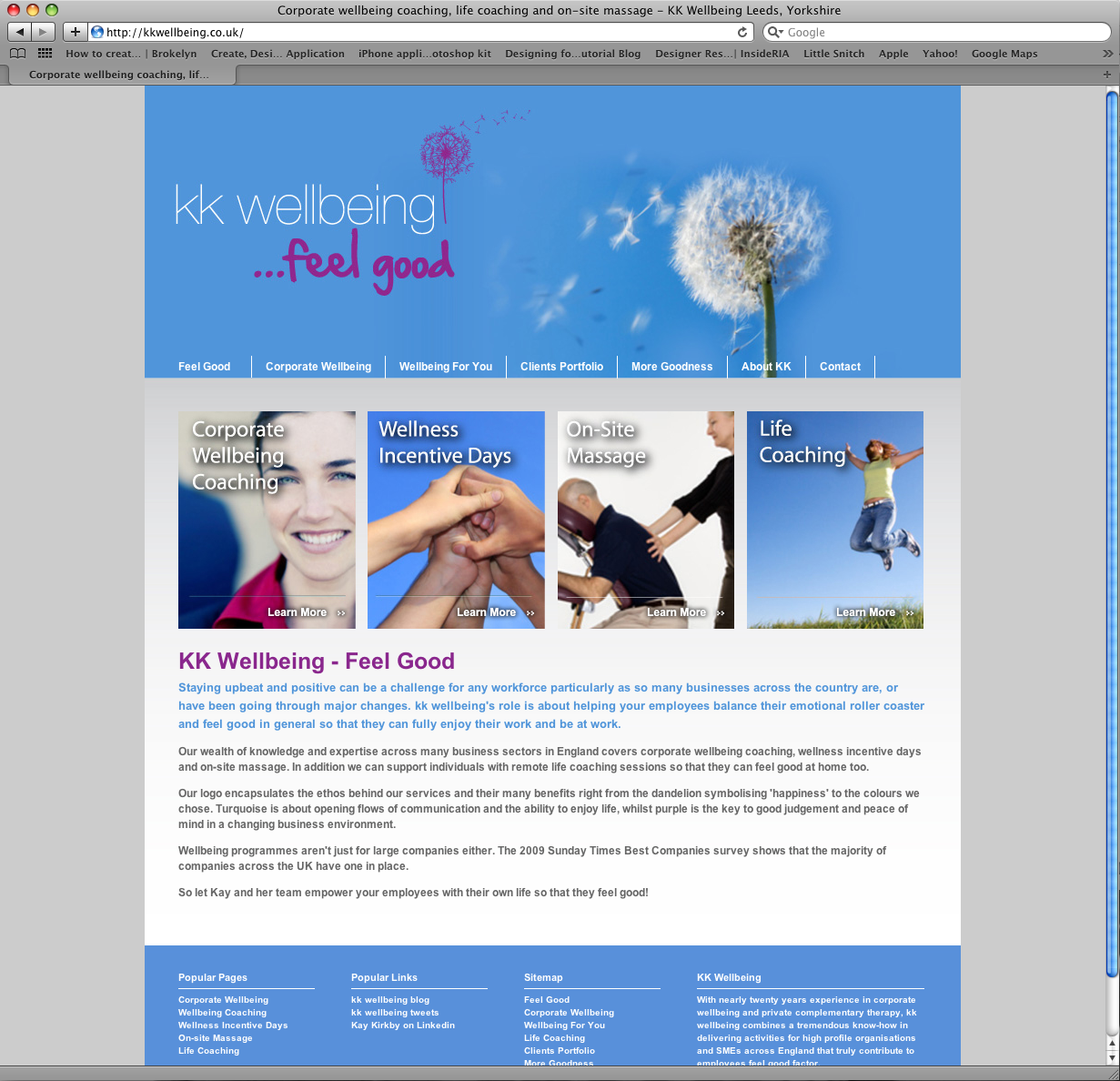 FIfteen Design Develop New Website for KK Wellbeing