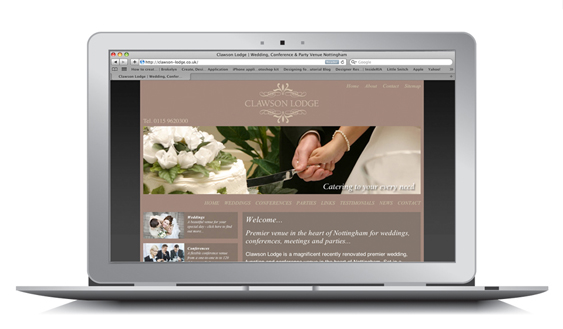 Wedding Venue Nottingham Website SEO Campaign