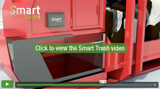 Smart Trash video