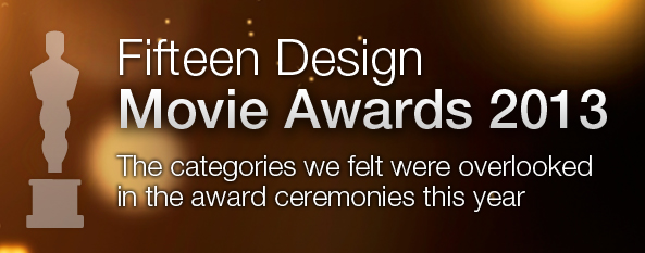 fifteen design movie awards