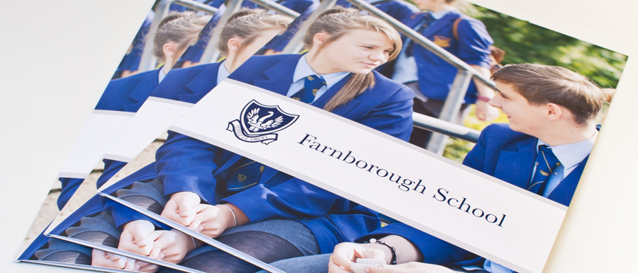 farnborough school prospectus design nottinghamshire