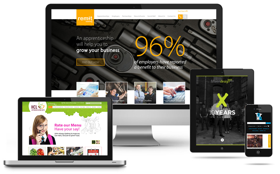 Fifteen Website Design Nottingham