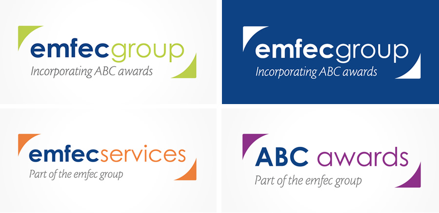 emfec logo design and branding