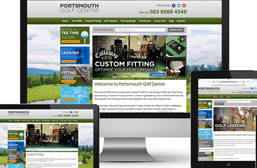 Golf Web Design