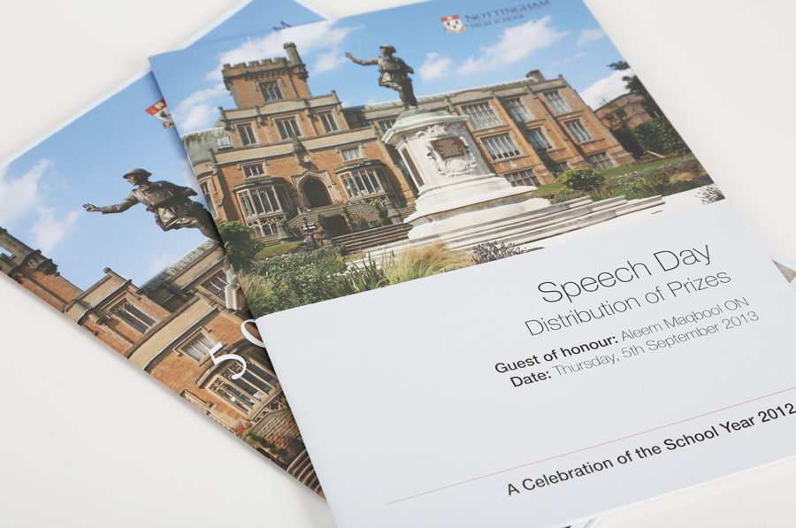 nottingham-high-school-speech-day-prospectus-design
