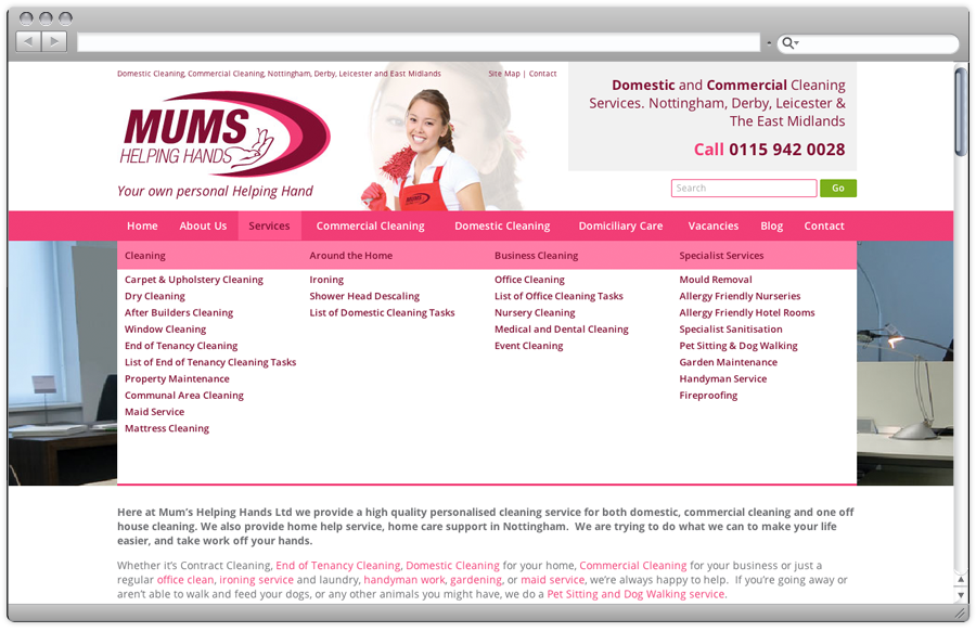 mums-helping-hands-website-design-mega-menu