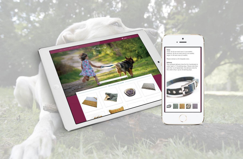 Brand and E-Commerce Website Design – Walk With Me