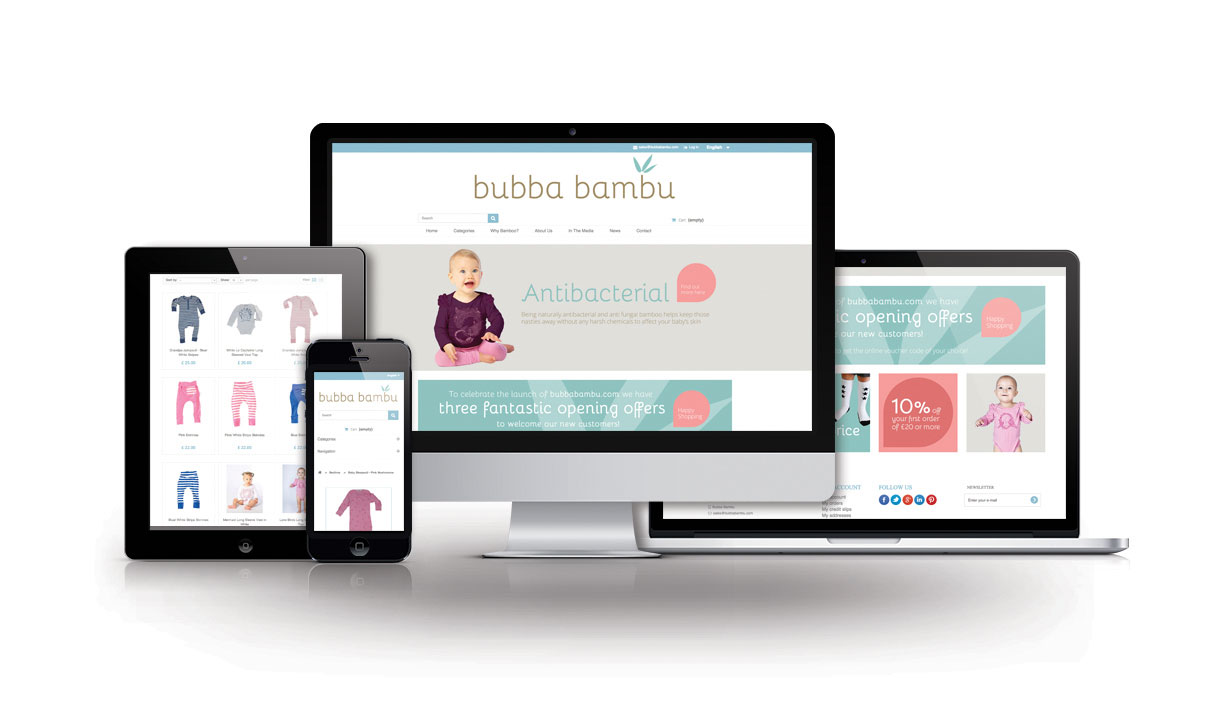 Bubba Bambu E-Commerce Website