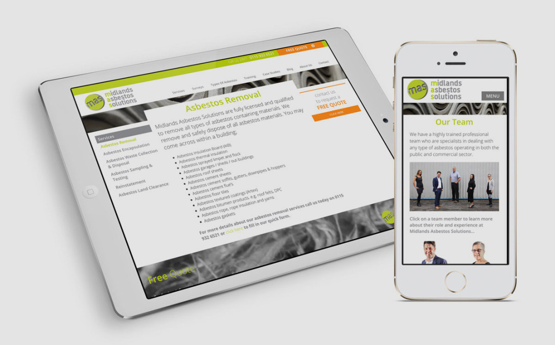 New Website Launched for Midlands Asbestos Solutions