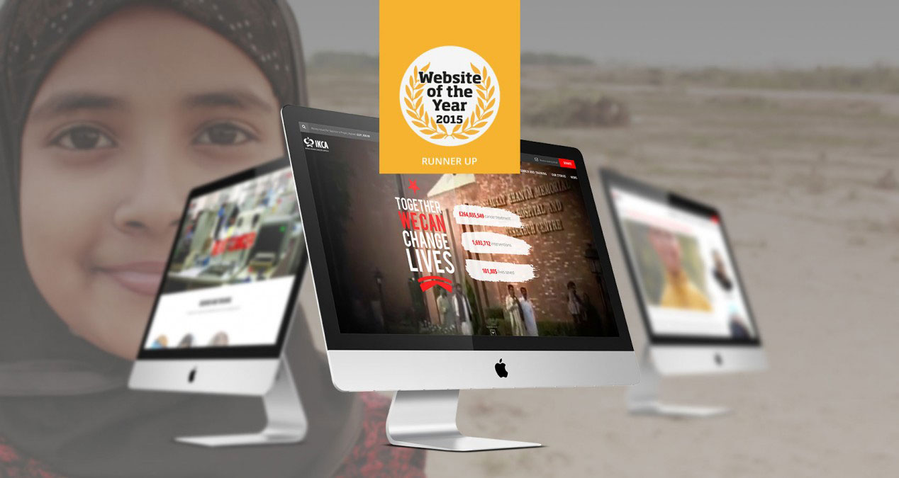 IKCA are runners up at the Website of the Year Awards 2015