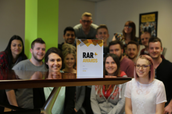 Fifteen win at the RAR Awards 2016!