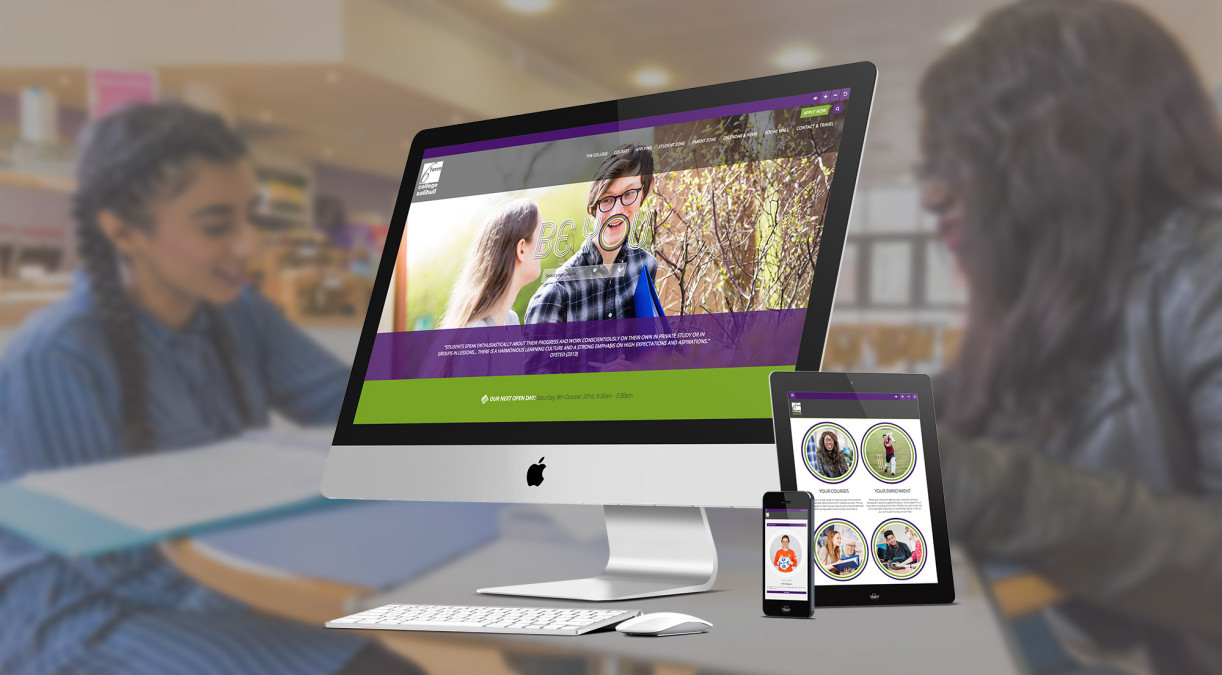 Be Inspired by The Sixth Form College, Solihull's New Website