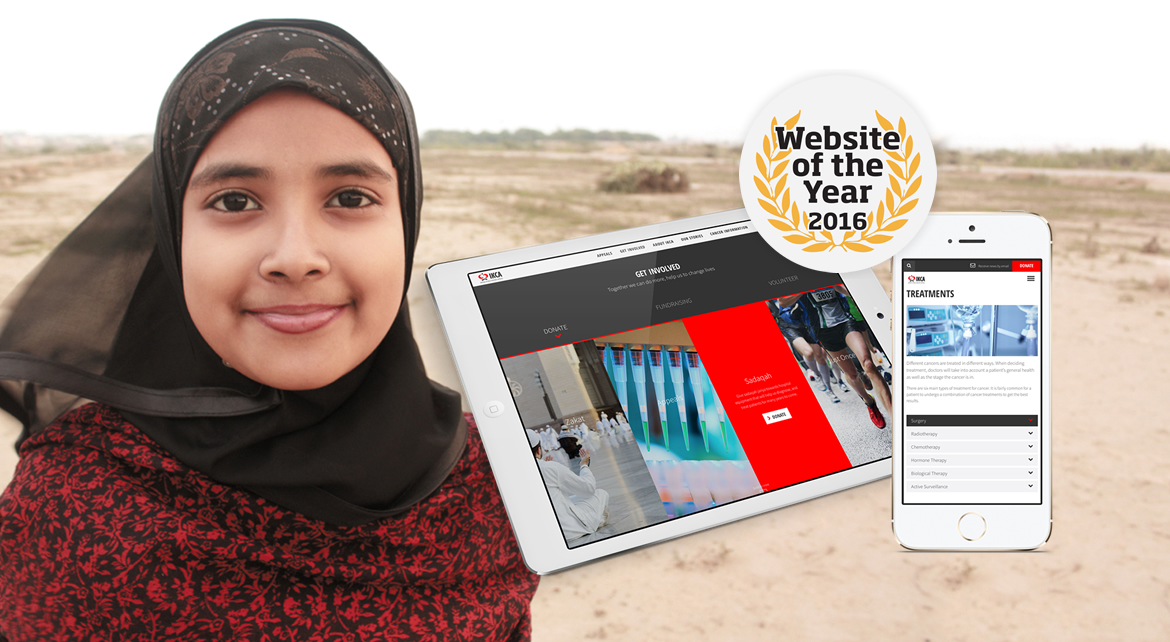IKCA website is shortlisted at Website of the Year 2016