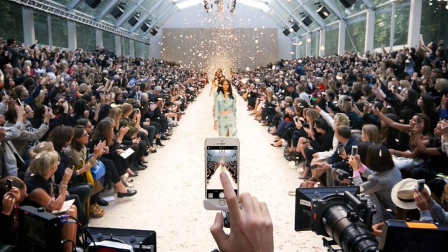 Burberry films its S/S 2014 show using the iPhone 5S