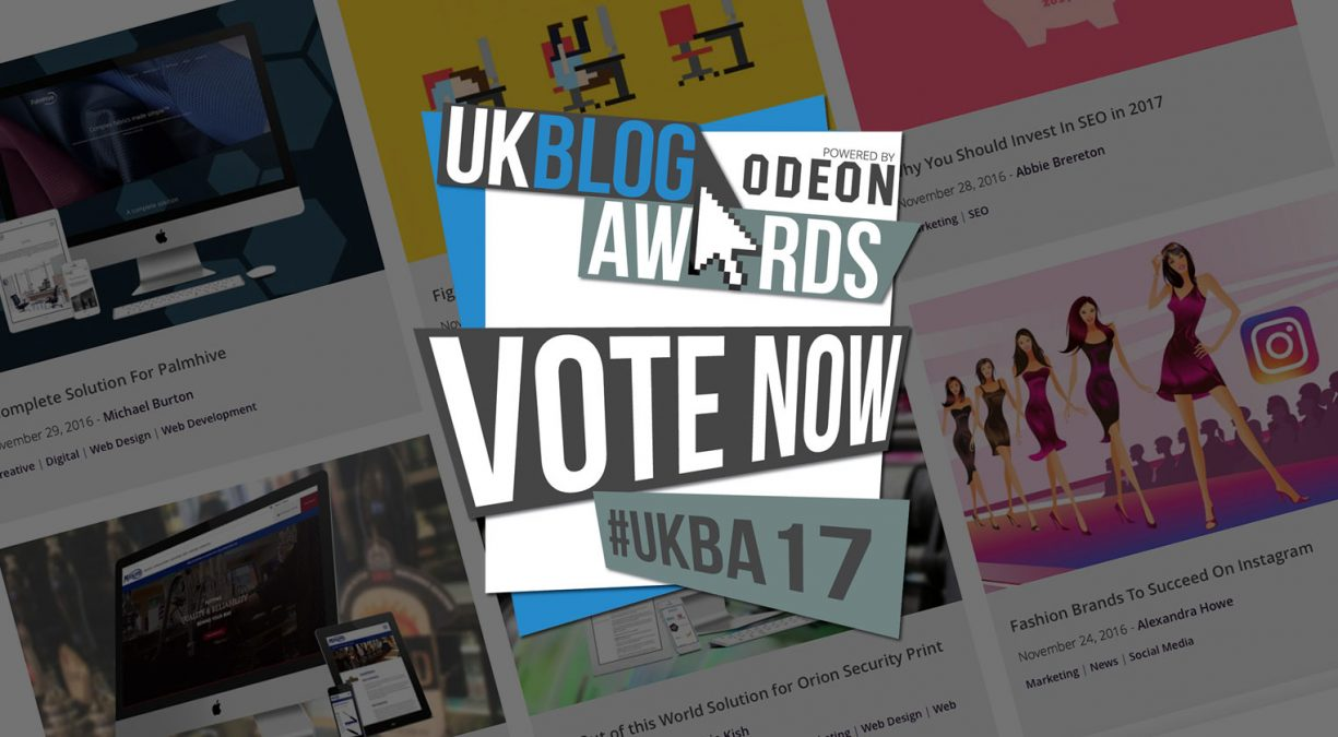 Vote for Fifteen at the UK Blog Awards 2017!