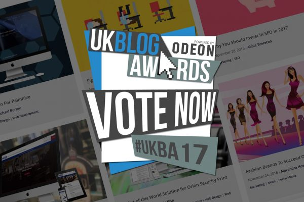 Vote for Fifteen at the UK Blog Awards 2016!