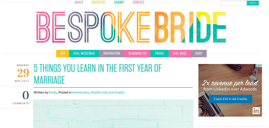 Bespoke bride Digital Marketing