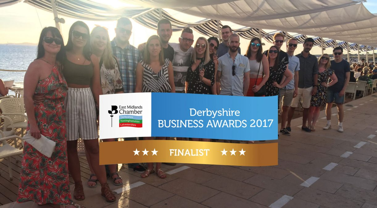 Fifteen are finalists at the East Midlands Chamber Business Awards 2017