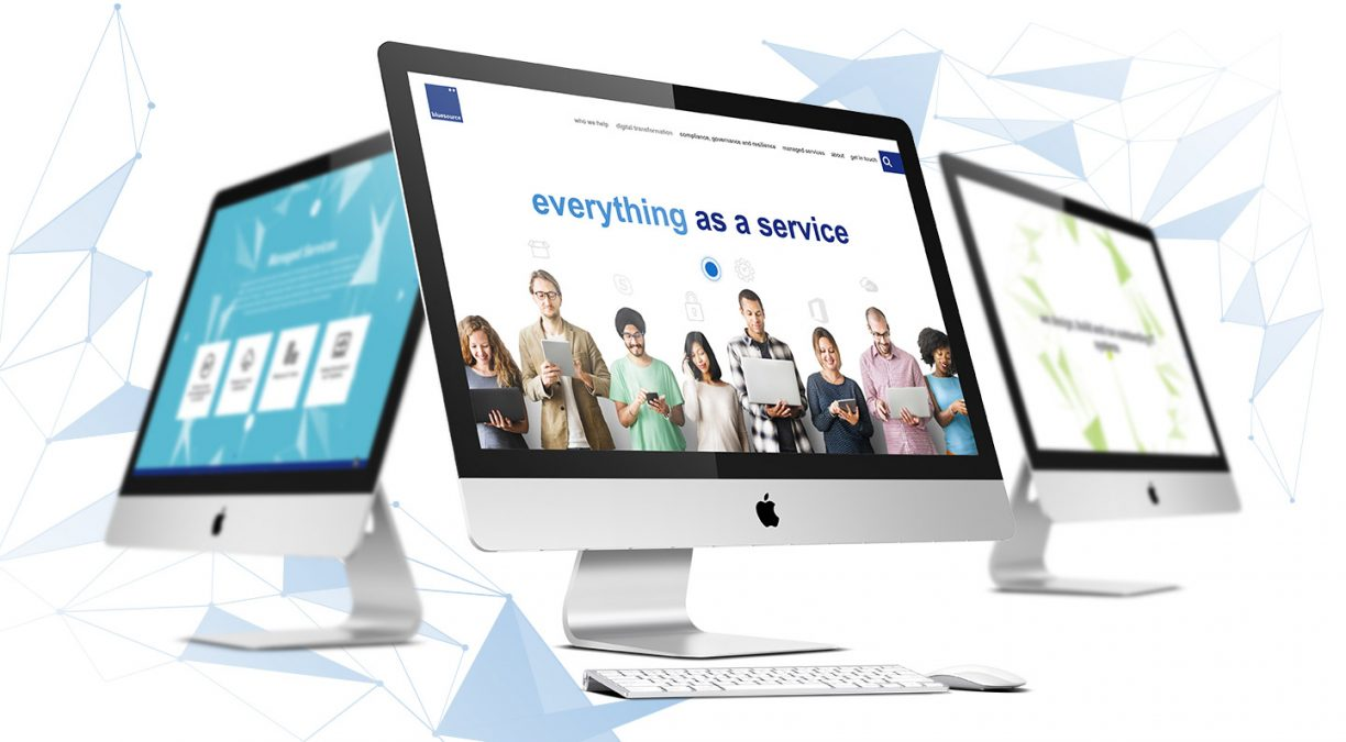 A New Website For IT Solution provider Bluesource
