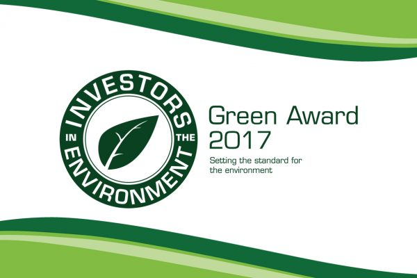 We've achieved a second iiE Green Award