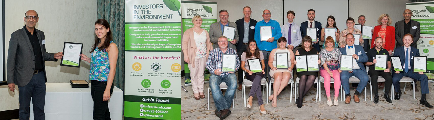Collecting our Green Award