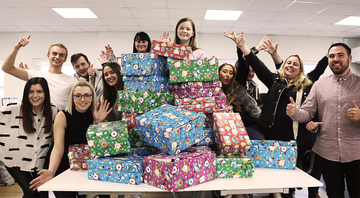 Fifteen Does Operation Christmas Child 2017