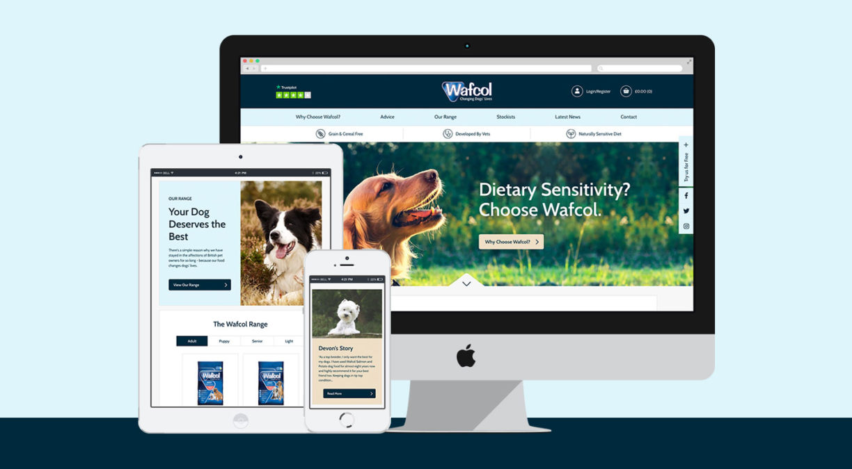 A Barking Success for the New Wafcol Website