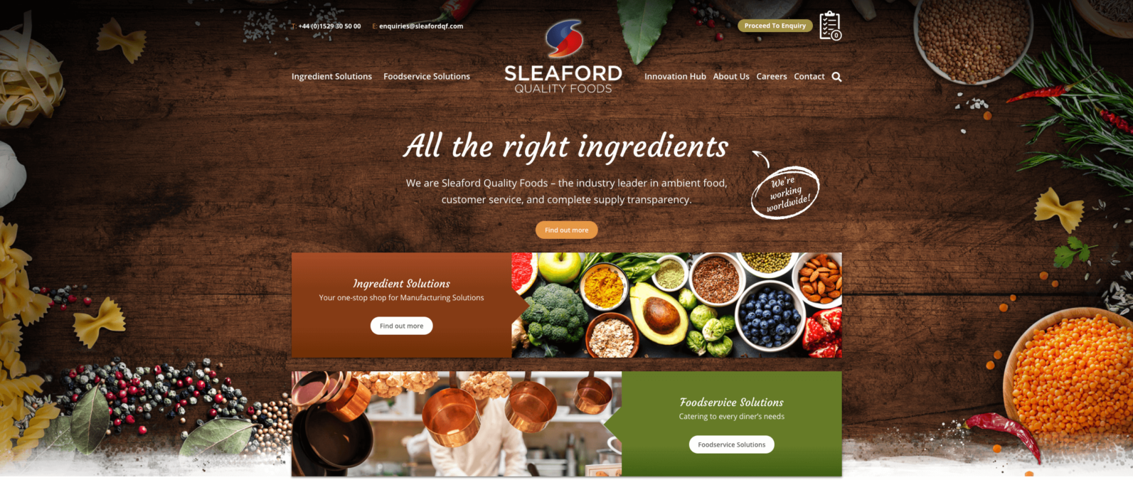 Sleaford Quality Foods is a Recipe for Success