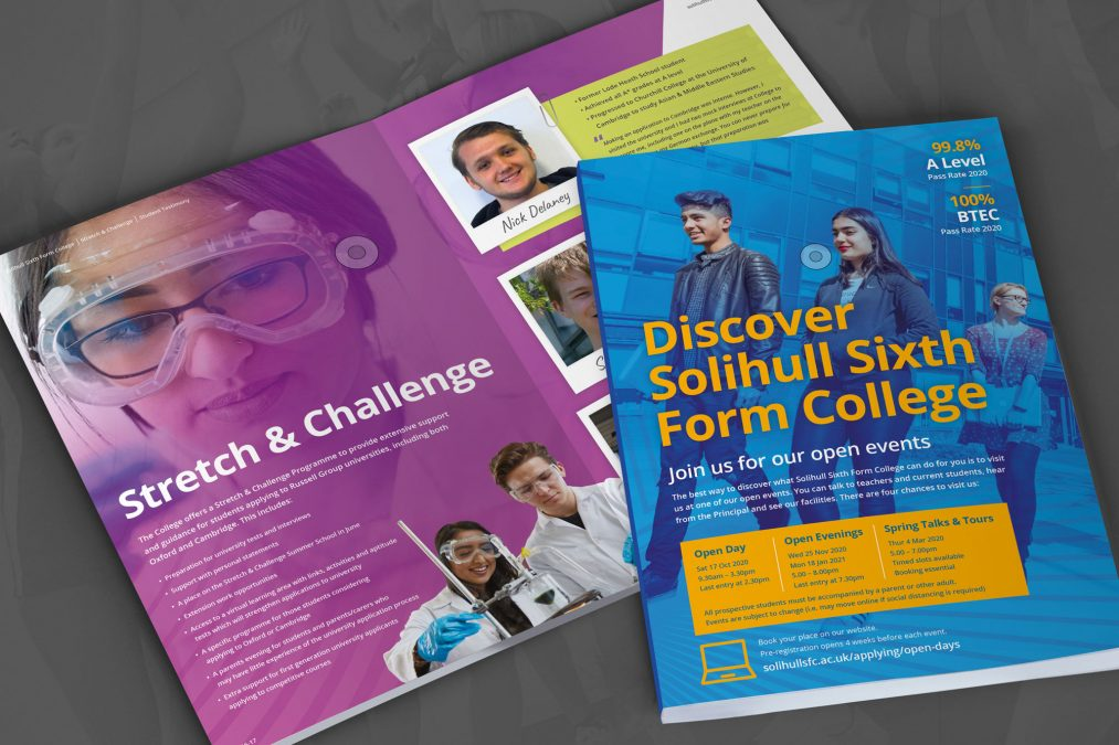 College and School Prospectus Design